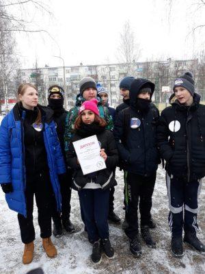 Денискина Анастасия – командир команды «Ориентир» получила диплом.