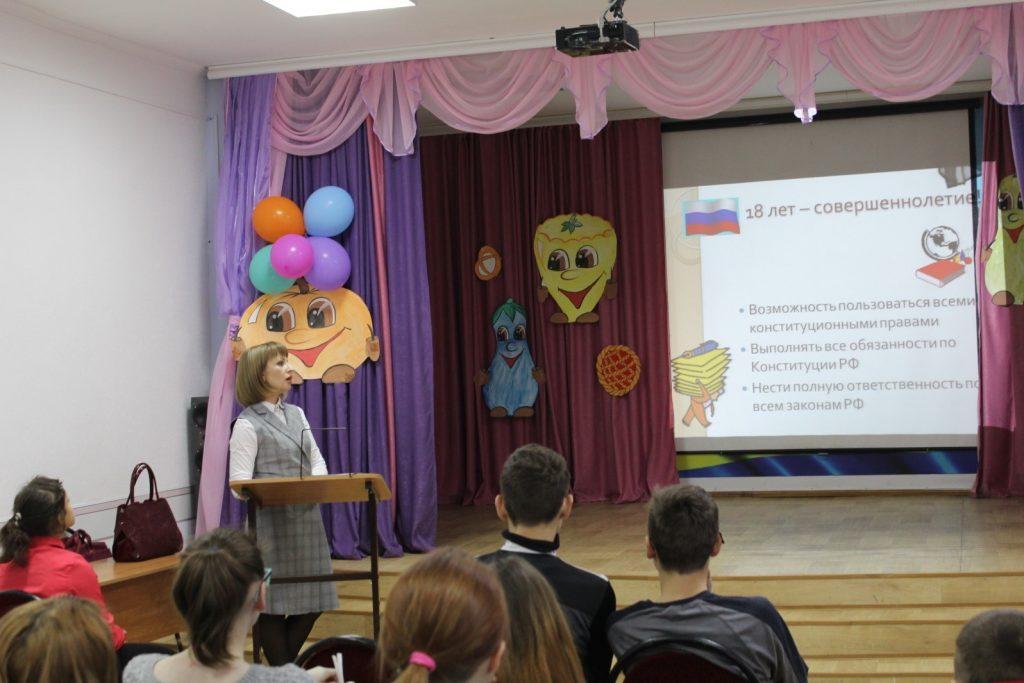 Беседу проводит нотариус города Касимова Гусева А.О.
