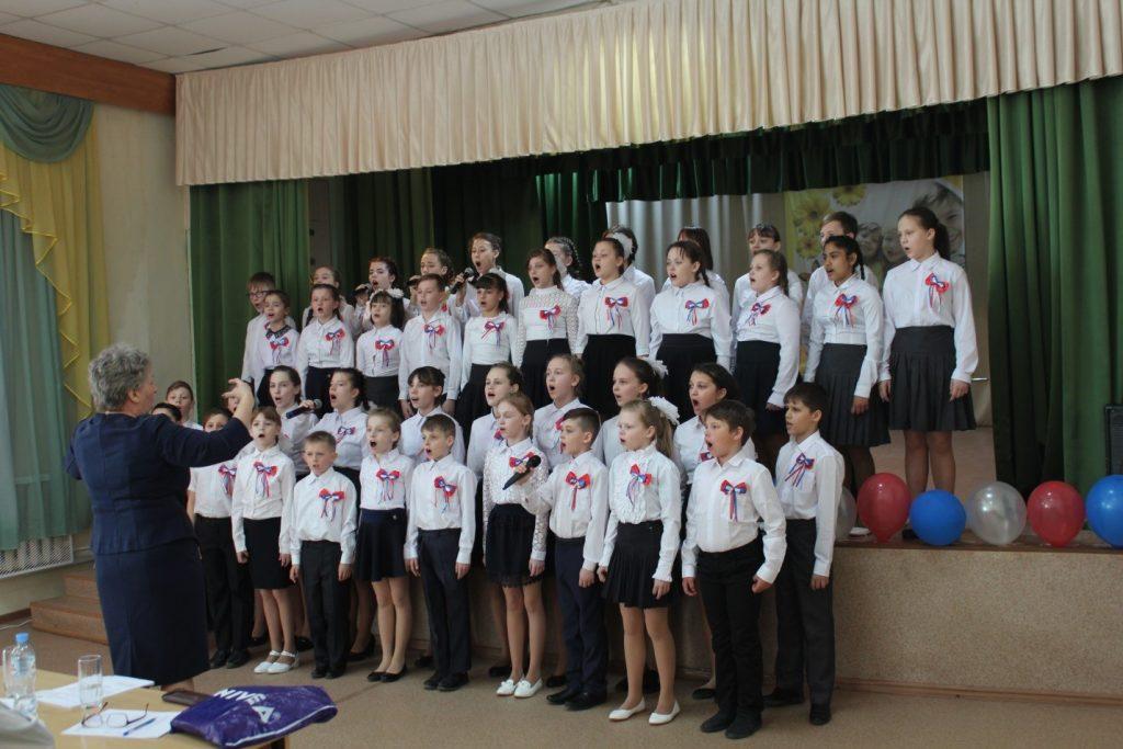 """Выступление хора ОГБОУ """"Касимовская школа-интернат"""""""