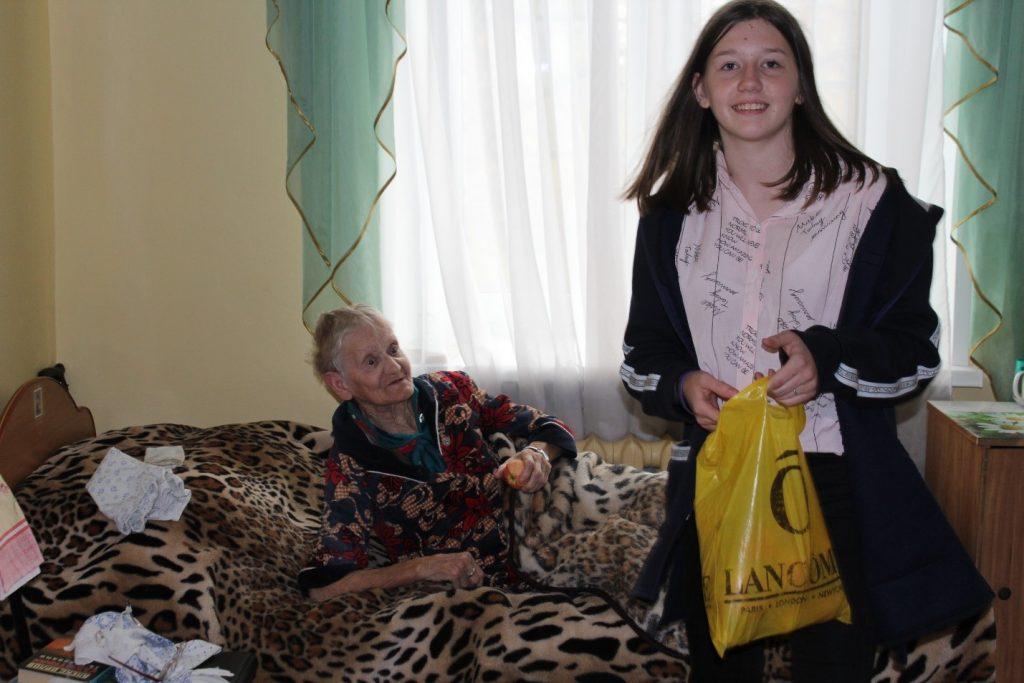 Херуимова Валентина – участник акции «Подари яблоко»