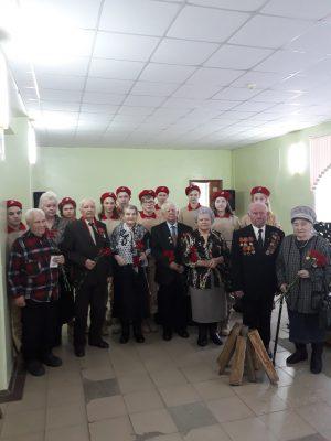 Фотография на память с ветеранами войны и тружениками тыла г.Касимова.